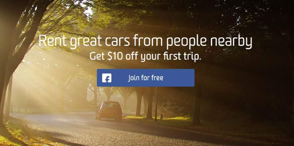 車を貸して収入ゲット!米国で話題のカーシェアリングサービス「Getaround」 1番目の画像
