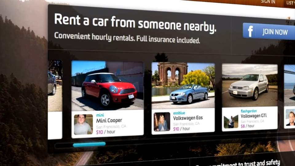 車を貸して収入ゲット!米国で話題のカーシェアリングサービス「Getaround」 2番目の画像