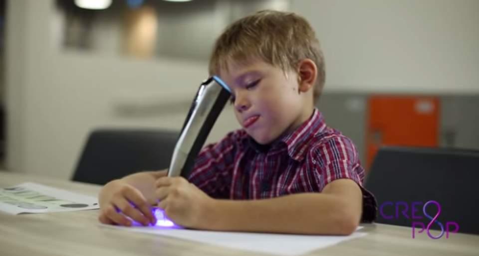 子供の想像力を爆発させる!世界初のクールインクを使った3Dペン「CreoPop」が話題沸騰 4番目の画像