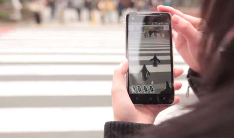仮想のペンギンが街中でお出迎え!サンシャイン水族館までエスコートしてくれるアプリ「ペンギンナビ」 1番目の画像