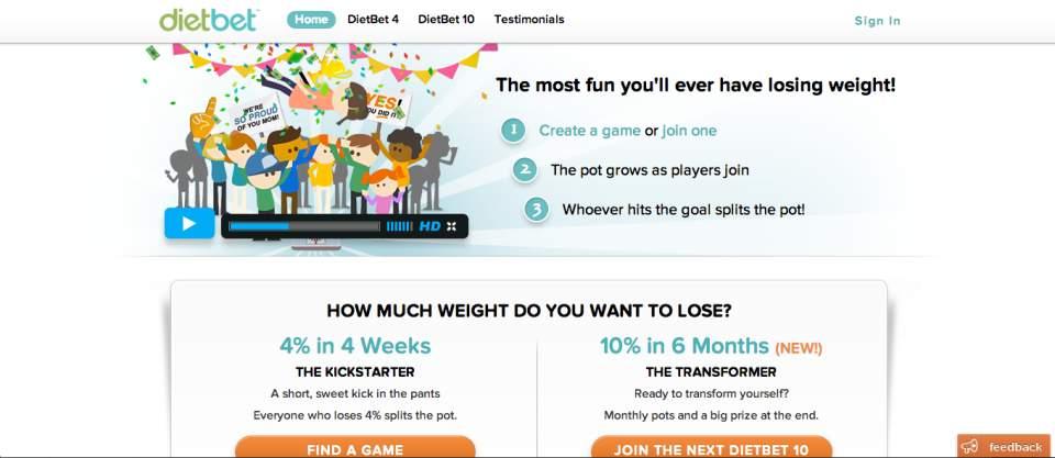 誰よりも痩せれば報酬GET!お金をかけて競い合う新たなダイエットの形「DietBet」 1番目の画像