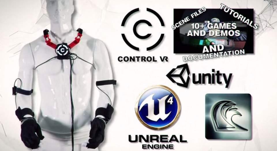ついに仮想空間に体が入る(手だけ)!指一本まで反映するグローブ型VR機器「Control VR」 6番目の画像