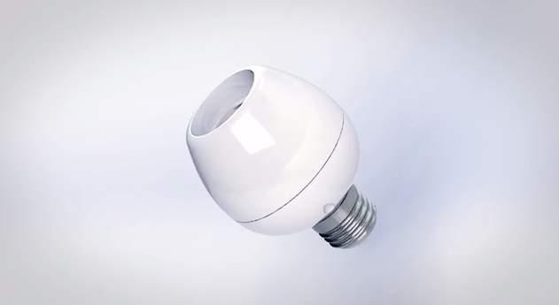合い言葉は「Vocca スイッチライト!」声に反応して点灯・消灯するガジェット「Vocca」 1番目の画像
