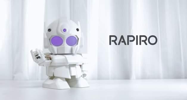 ちっちゃいガンダムみたいで可愛い!世界中で話題沸騰の組み立て式ロボット「RAPIRO(ラピロ)」 1番目の画像