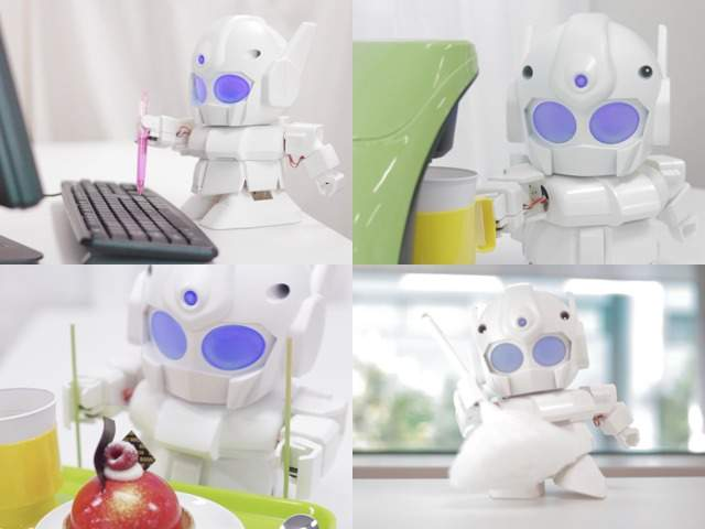 ちっちゃいガンダムみたいで可愛い!世界中で話題沸騰の組み立て式ロボット「RAPIRO(ラピロ)」 3番目の画像