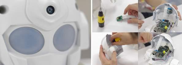 ちっちゃいガンダムみたいで可愛い!世界中で話題沸騰の組み立て式ロボット「RAPIRO(ラピロ)」 8番目の画像