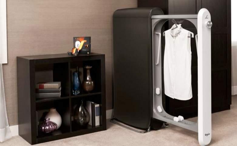 10分で洗濯・乾燥・アイロン!今すぐ着たい衣類を速攻ケアする超スリムな次世代家電「Swash」 2番目の画像