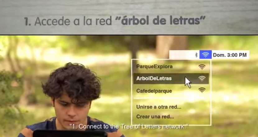 鳥の巣がある木から電子書籍が入手できる!コロンビアの通信会社が仕掛けた「読書率向上」大作戦 5番目の画像