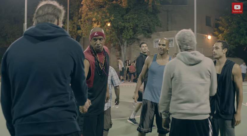 バスケ界に新生あらわる!史上最強の老人コンビが、ストバスの若者を滅多打ちにする。その正体は…。 2番目の画像