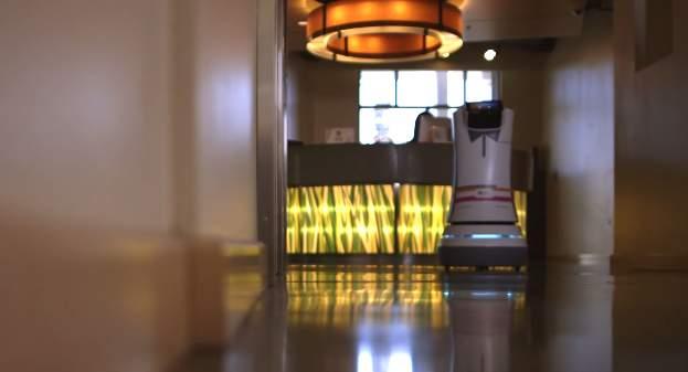 ロボットがルームサービスを届けてくれる!?海外ホテルで働く執事ロボットが本当に全自動だった 4番目の画像