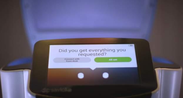 ロボットがルームサービスを届けてくれる!?海外ホテルで働く執事ロボットが本当に全自動だった 7番目の画像