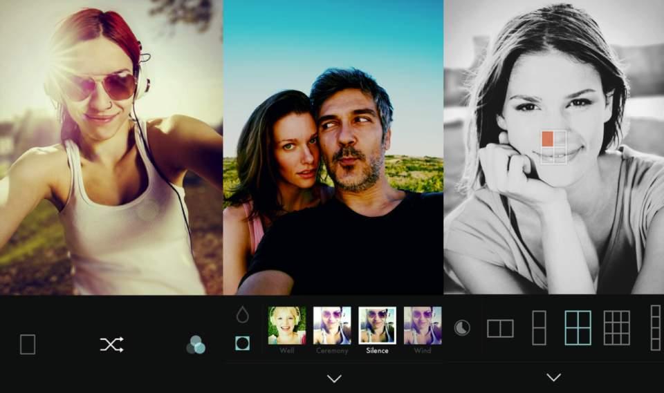 "LINEが出した ""自撮り専用""カメラアプリ「B612」は他のカメラアプリと何が違うのか? 1番目の画像"