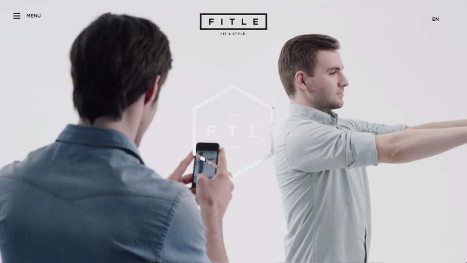 インターネットで試着が可能!自分の3Dアバターで服のサイズや雰囲気を確認できる「Fitle」 1番目の画像