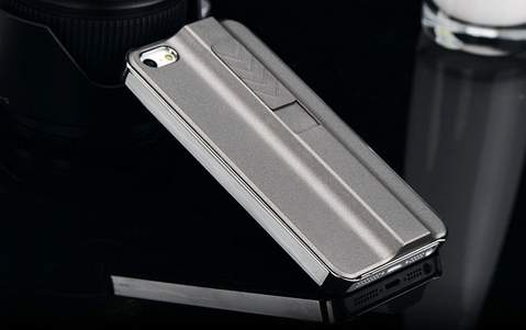 【愛煙家のあなたへ】ライターはもう必要ありません。煙草に火をつけられるiPhoneケースが登場 2番目の画像