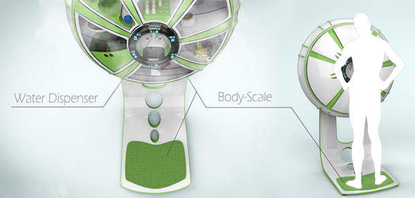 6つの扉の冷蔵庫!?海外デザイナーが生み出した冷蔵庫「FRIGIDO」が近未来的 5番目の画像