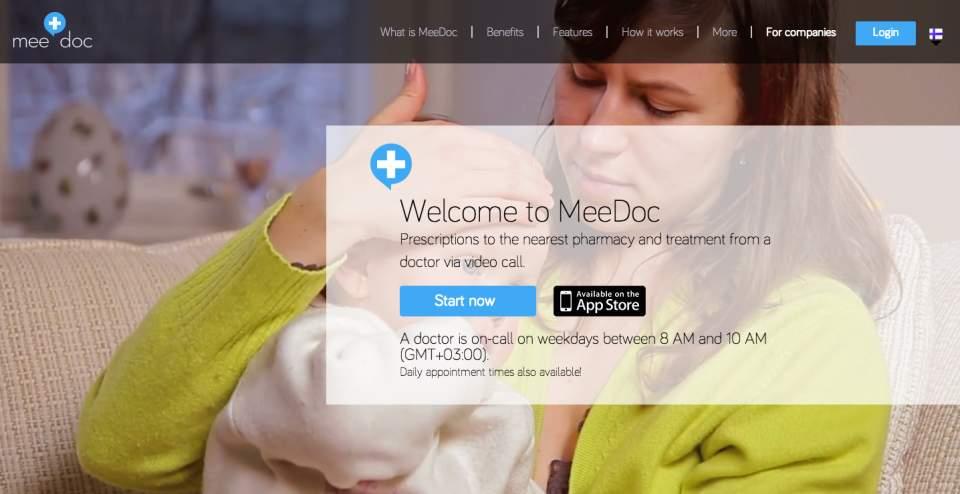 病院に行かずに診察を受けられる?ビデオ通話で医師とつながるサービス「Meedoc」 1番目の画像