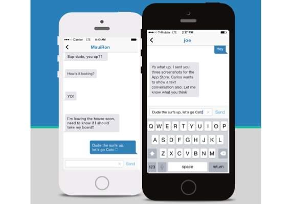 まるで会話みたい!打つ文字がリアルタイムに反映されるチャットアプリ「Textter」 1番目の画像