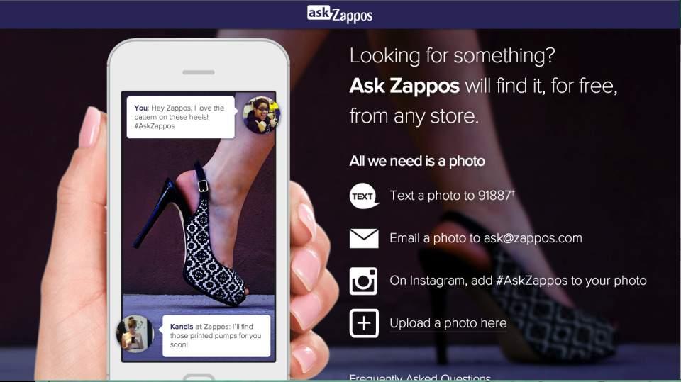 これどこで売ってるの?写真を撮るだけで売ってるお店を探してくれる「ask Zappos」が便利 1番目の画像