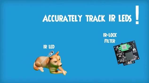 ドローンカメラを自作!?自動追尾型カメラが簡単にDIYできてしまうキット「IR-LOCK」 2番目の画像