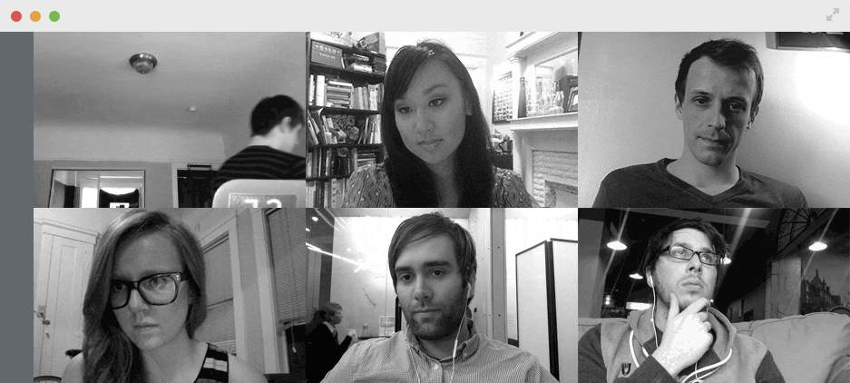 Skypeはもういらない。リモート会議なら最強の「Sqwiggle」でビデオチャットをしよう 2番目の画像