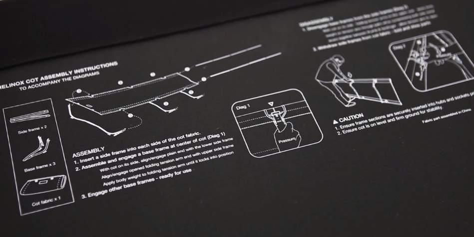 簡単60秒で組み立て!ベッドにもチェアにもなるアウトドアキット「Cot One」 5番目の画像
