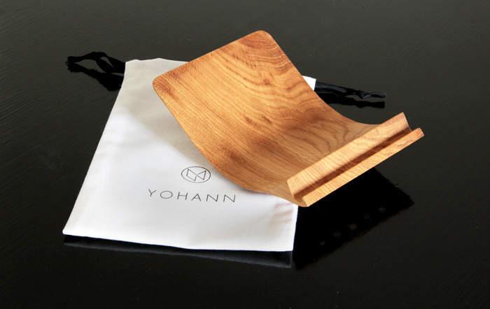 これが最強のiPadスタンドだ!シンプルさをとことん追求した「Yohann」のデザインが美しい 4番目の画像