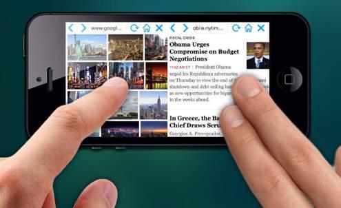 欲張りなあなたに!2つのWebサイトを同時に閲覧できる「Double Browser Pro」 1番目の画像