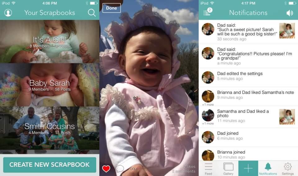 あなたも親バカ自慢ができる?赤ちゃんの可愛い写真を手軽に共有できるSNS「DailyKiddo」 3番目の画像