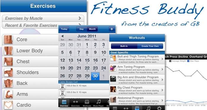 アプリ1つでジムいらず。本格的なトレーニングができる筋トレアプリ「Fitness Buddy」 1番目の画像