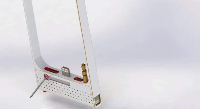 こんなのもあったら・・・。開発者のアイデアが詰まったiPhone専用充電スタンド「RAVERR」 3番目の画像
