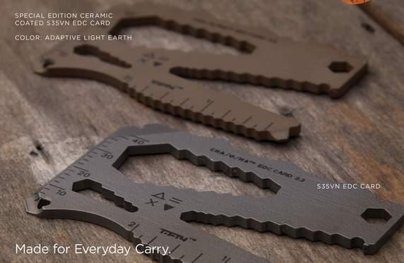財布の中にしまっておけるマルチツール、「EDC Card」さえあればもうアウトドアで困らない 1番目の画像