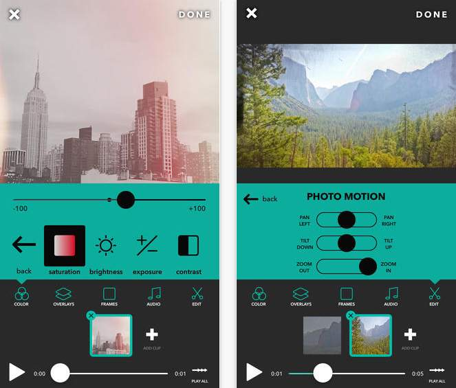 見せる動画から魅せる動画へ。気軽さと美しさを兼ね備えた動画編集アプリ「Videohance」 2番目の画像