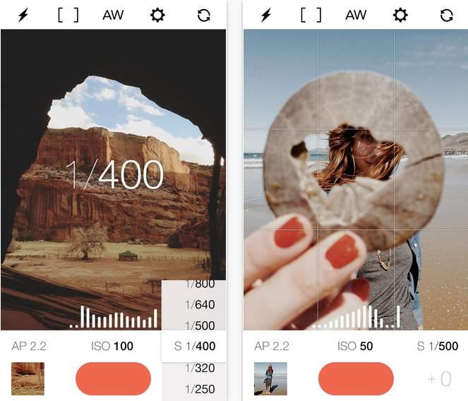 カメラ好き待望のマニュアル撮影カメラアプリ「Manual」気軽なスナップショットは一眼いらず 2番目の画像