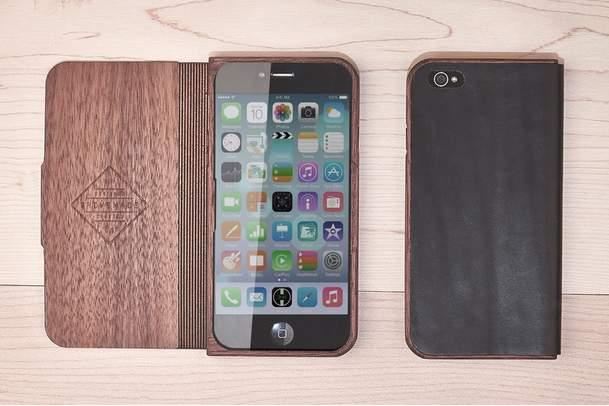 職人芸が織りなす至高のiPhoneケース。iPhone6は木製ケースでシブく決めましょう 1番目の画像