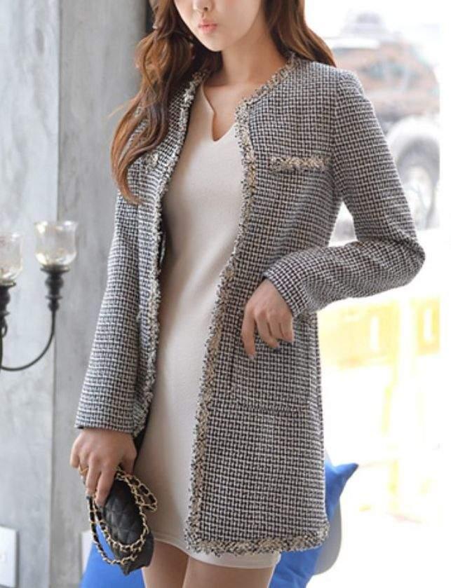 男前アイテムも女らしく着こなしたい!ジャケットをフェミニンに着たい女性のためのコーデ3選 3番目の画像