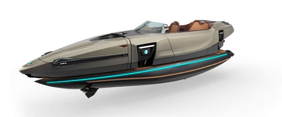 完全にトランスフォーマー!何種類ものボディに変形する電動型のボート「KORMARAN」に大興奮 2番目の画像