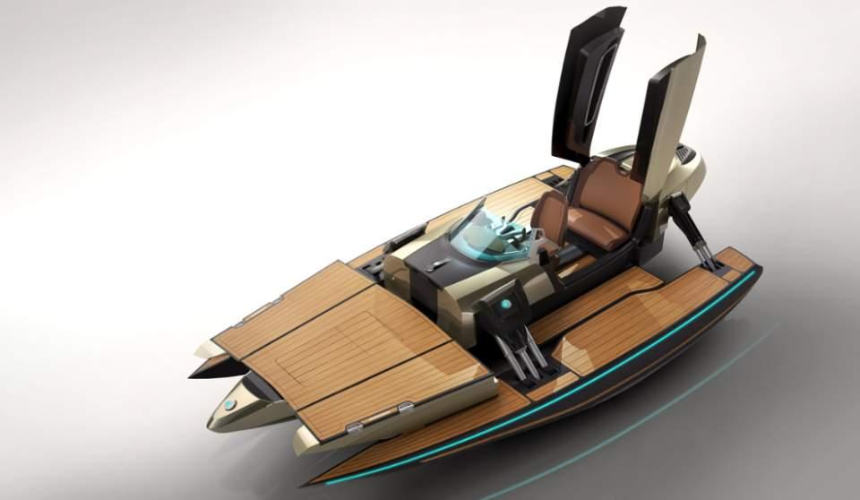 完全にトランスフォーマー!何種類ものボディに変形する電動型のボート「KORMARAN」に大興奮 3番目の画像