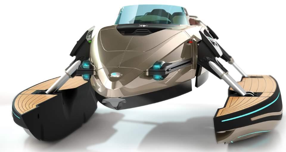 完全にトランスフォーマー!何種類ものボディに変形する電動型のボート「KORMARAN」に大興奮 5番目の画像
