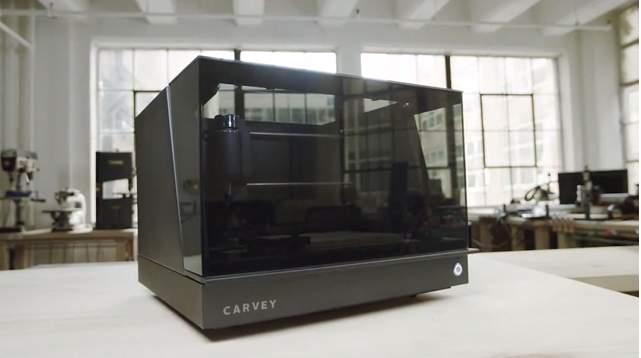 プリンターで彫刻!? 3Dカービングマシン「Carvey」で芸術作品も思いのままに 2番目の画像