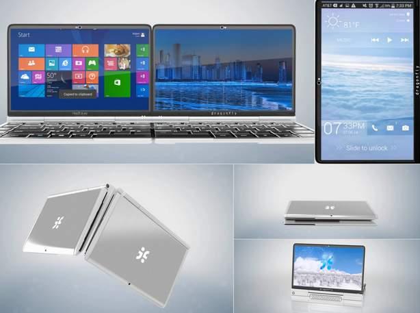 Surface危うし! スマホ+タブレット+ノートPCの最強過ぎるオールインデバイス登場 2番目の画像