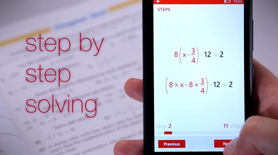 ぜ、絶対にカンニングには使うなよ? カメラをかざすだけで数学の問題を解いてくれるアプリが登場 4番目の画像