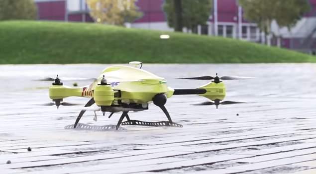ドローンが救急医療を変える! AED搭載の救急救命ドローン「Ambulance Drone」 1番目の画像
