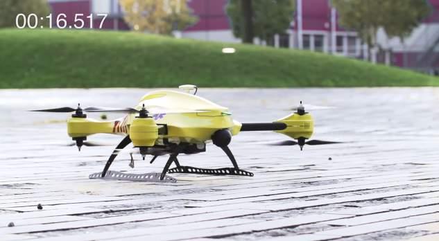ドローンが救急医療を変える! AED搭載の救急救命ドローン「Ambulance Drone」 3番目の画像