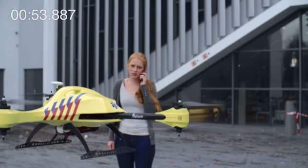 ドローンが救急医療を変える! AED搭載の救急救命ドローン「Ambulance Drone」 5番目の画像