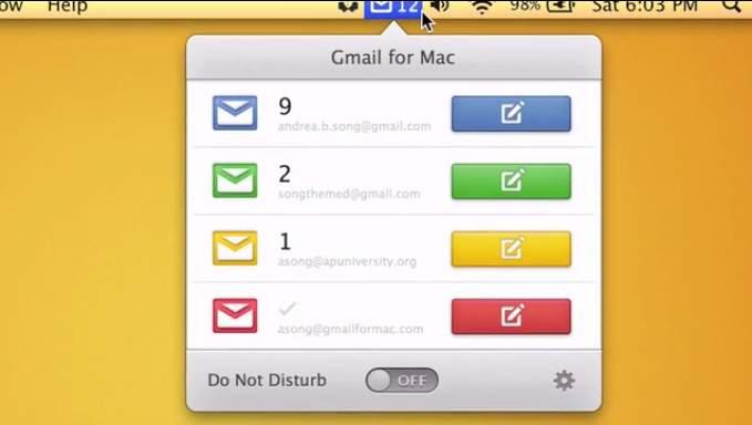 Macユーザーの皆様、お待たせしました! GmailのMacクライアントが開発中 4番目の画像