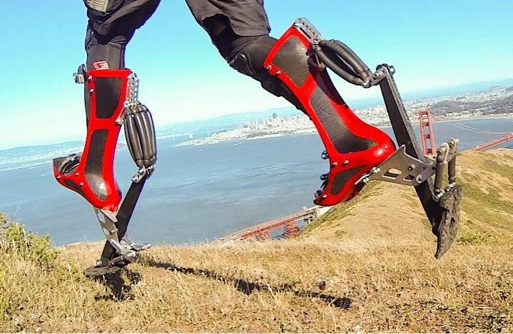 ウサイン・ボルトと同じ早さで走れる世界最速ブーツ「Bionic Boot」 2番目の画像