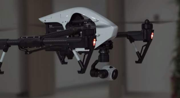 1km以上の飛行、高性能なカメラ、そして変形…かっこ良すぎる空撮ドローン「Inspire 1」 4番目の画像