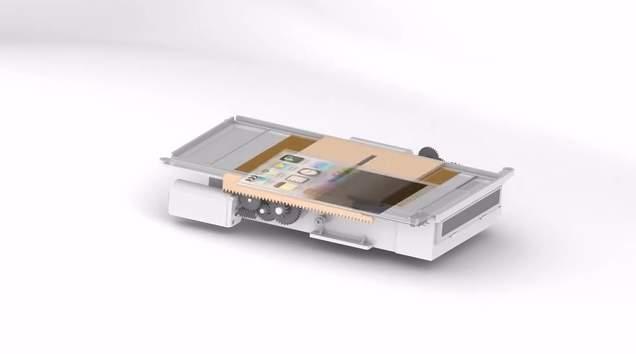 スマホの写真をすぐに現像! どこでも持ち運べる小さなプリンターガジェット「SnapJet」 3番目の画像