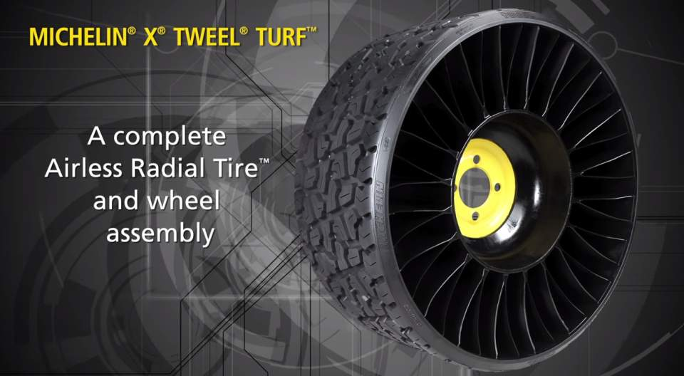 タイヤ業界に激震走る! 釘がささってもパンクしない変形タイヤ「TWEEL」 1番目の画像
