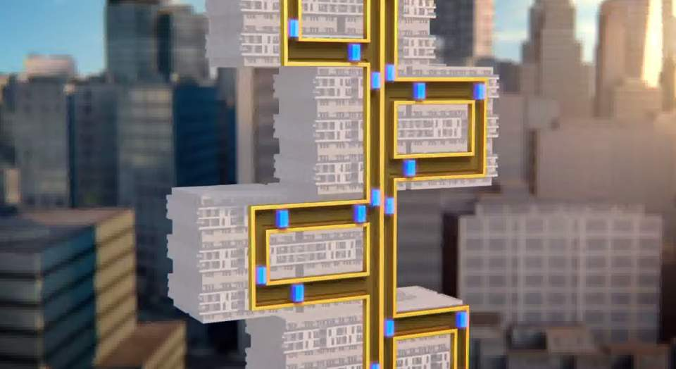 エレベーター業界に激震! 磁力で左右の移動も可能にした次世代エレベーター「MULTI」 1番目の画像